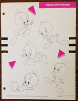 Tweety Pie Poses 2 by guibor