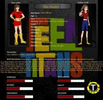 Rav Anders Teen Titans page by wolfdemongirl13