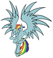 Rainbow Dash by Troggle