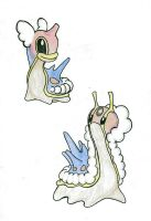 Shellos + Gastrodon Winter