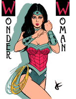 Wonder Woman by JustinCoffee