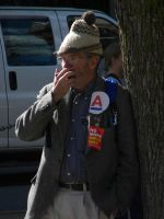 Harmonica player by D905
