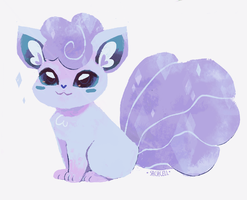 aloa vulpix by sachcell