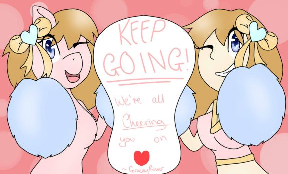 Summer Card - Keep Going by GraceyRiver