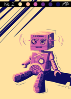 Request :: Steampunk Robot by BecomeOneDa