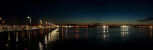 Night panorama by Emmpunct