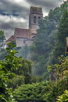 Church Saint-Ceneri-le-Gerei Orne France by hubert61