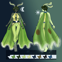 Lunar Moth by sushi-just-ask