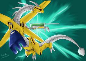 PRIZE-Power Tool Dragon by LightEndDragon