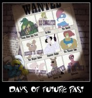 The 80's- Days of Future Past by Juggertha