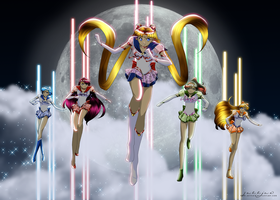 Sailor Team by Yettyen