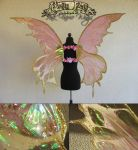 Pink Faerie Wings by Firefly-Path
