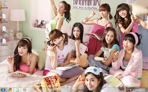 SNSD Desktop by N30Cramanc3r