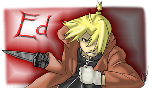 Edward Elric by EmilyKiwi