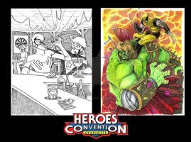 Heroes Con Commissions by JeremyTreece