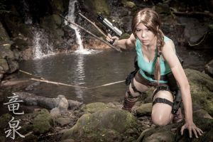 Lara Croft Cosplay by kimberlystudio