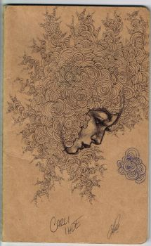 Moleskine Cover Sketch by Carliihde