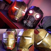 Iron man and Star-lord Helmets by 13nin