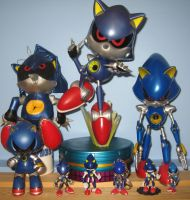 Metal Sonic Collection by MizukiiMoon