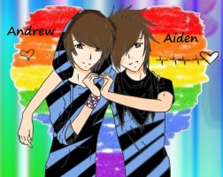 Andrew and aiden? by BarbieBoii