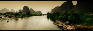 Guilin Panorama by sn4rk