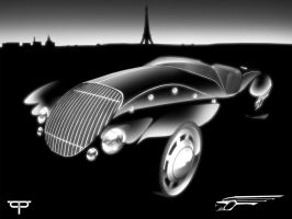 Peugeot 4022 Black Scene by TCP-Design