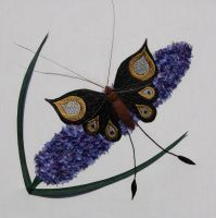 Butterfly and Lilac by RuthNorbury