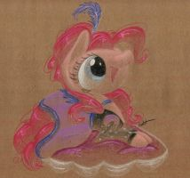 Favorite Pony Outfits: Pinkie in Over a Barrel by getchanoodlewet