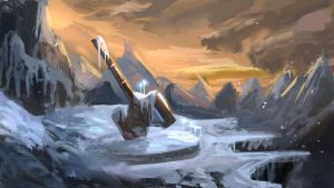 Daily Spitpaint: Promise of a Dwarf (+timelapse) by KristinaToxicpanda