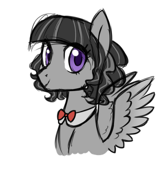 NG: The grey filly by Azure-Art-Wave