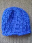 Blue Hat with hatchmark by Shankler