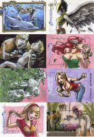 DC Legacy sketch cards 2 by RenaeDeLiz