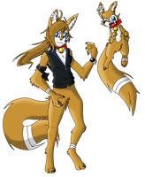 Catix's Anthro/Feral Forms (Digitalization) by Snide-The-Serperior