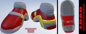 Soap Shoes Sonic Adventures 2 by ICEMBL