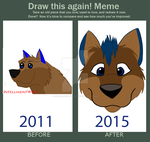 Before and After Meme by IntelligentWolf