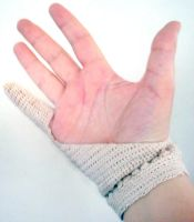 Crochet Tablet Glove by halfbreed