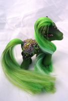 My little pony custom Victory Lain by AmbarJulieta