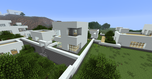 Minecraft: Manasia - White Town 5 by Denis-Manase