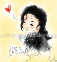 MJs flying kiss by MonMJ