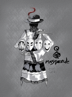 Queen of Spades - Masquerade by ChesterPalm