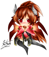 Chibi Cadena - Lucent Heart MMORPG by TheTwilightGirl