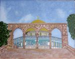 dome of rock - in progress by LouiseOdier