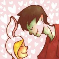 Fionna and Marshal Lee by Amy-Zilla