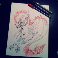 .:Commission WIP - Winterbrookie:. by Zikki-chan
