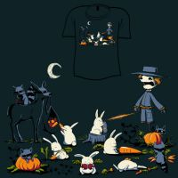 Woot Shirt - Harvest Heist by fablefire