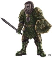 Dwarf Fighter Colour by Domigorgon