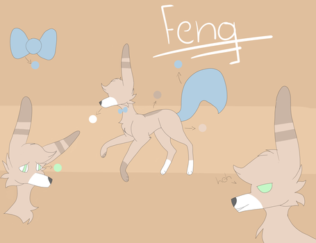 Feng Ref by sunnythefoxy