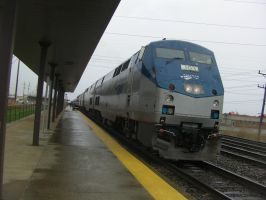 Amtrak #48 Lake Shore Limited in Depew, New York by Fluttershy-Lover