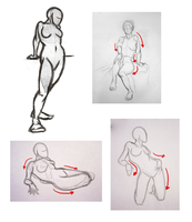 Female Figure: Notes + Example by Penumbra-Ex