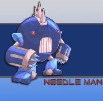 Needle Man by neen